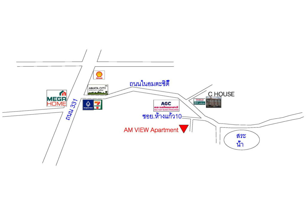 Am View Apartment Map 001